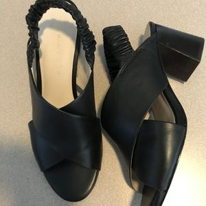 Cole Haan black leather sandals - Size 8